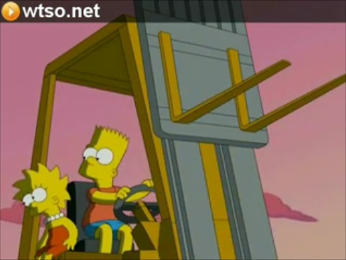 Bart and Lisa Simpson Shading