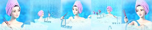 Bathed Isla