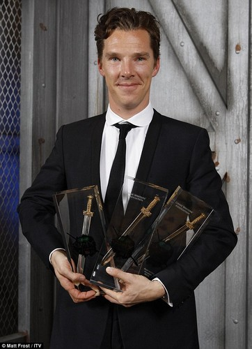 Benedict Cumberbatch /Crime Thriller Awards 2012