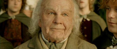 Bilbo Baggins wallpaper containing a green beret, fatigues, and battle dress titled Bilbo