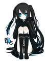 Black Rock Shooter - black%E2%98%85rock-shooter fan art