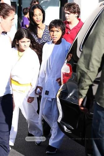 Blanket Jackson, Royal Jackson and Prince Jackson in Calabasas ♥♥