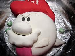 Boo cake