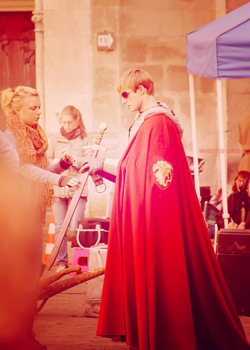 Bradley James aka Arthur Pendragon