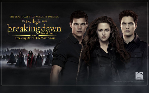Breaking Dawn Part 2 پیپر وال