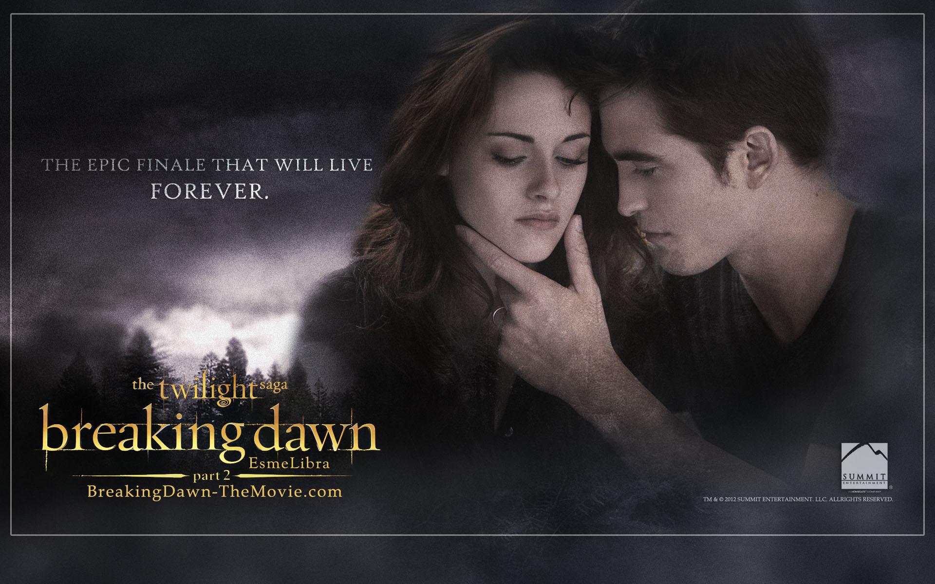 Twilight Series Breaking Dawn Part 2 Wallpaper