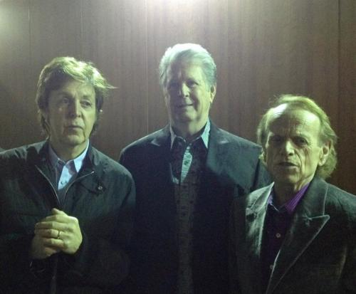 Brian Wilson, Al Jardine & that Beatle