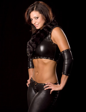Candice Michelle Hintergrund titled Candice Michelle Photoshoot Flashback