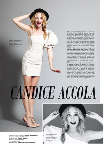 "Candice for ""Salada"" magazine - 2012."