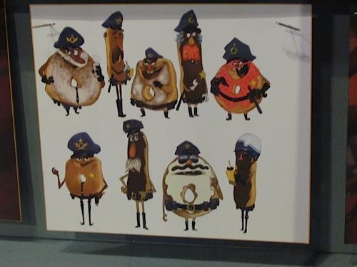 ক্যান্ডি চকোলেট Cops Concept Art