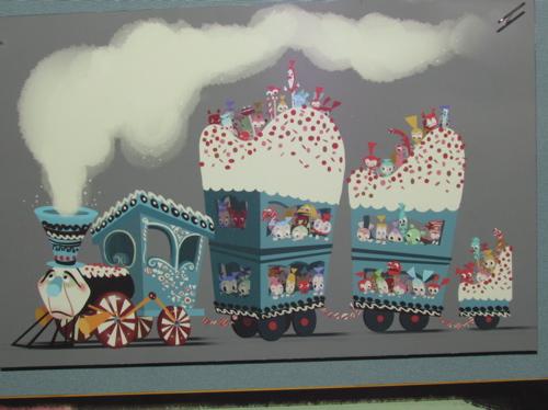 कैन्डी Train Concept Art