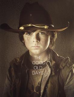 The Walking Dead Carl ღ  Walking Dead Carl