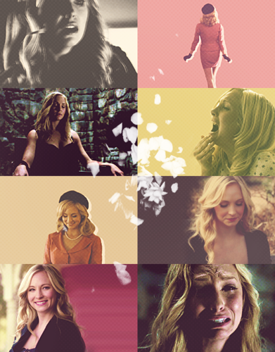 Caroline Forbes wallpaper probably with a portrait and anime called Caroline Forbes