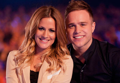 Olly Murs wallpaper containing a portrait entitled Caroline Flack and Olly Murs
