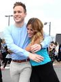 Caroline Flack and Olly Murs  - olly-murs photo