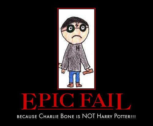 Harry Potter Vs. Twilight achtergrond probably with anime titled Charlie Bone pwns Harry Potter