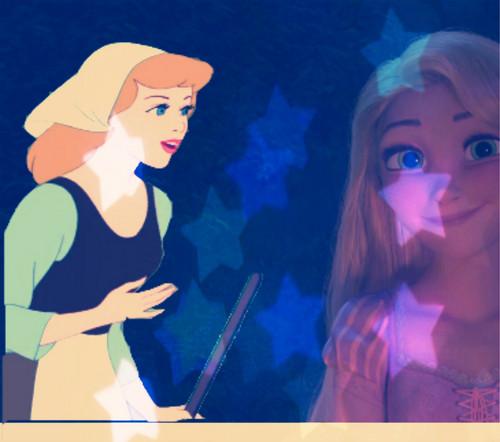 Cinderella & Rapunzel