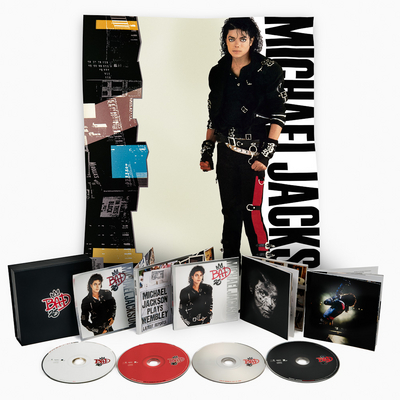 "Contents From The ""25th"" Anniversary Edition Of ""BAD"""