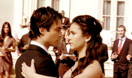 Damon & Elena wallpaper titled Damon&Elena