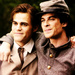 Damon&Stefan - damon-and-stefan-salvatore icon