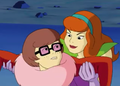 Daph Catches Velma - scooby-doo photo