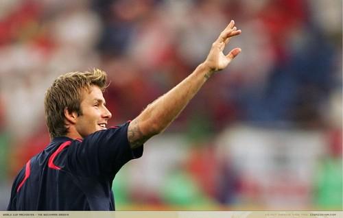 David Beckham Pride of England