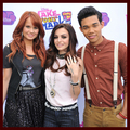 Debby Ryan, Cher Lloyd & Roshon Fegan @ Make Your Mark: Shake It Up Dance Off 2012