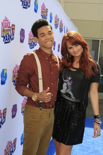Debby Ryan & Roshon Fegan @ Make Your Mark: Shake It Up Dance Off 2012