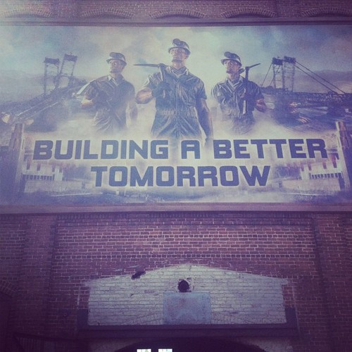 District 12 Propaganda Poster