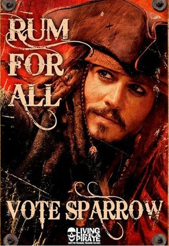 Do Ты want to see Captain Jack as the president? Then vote!!:))))