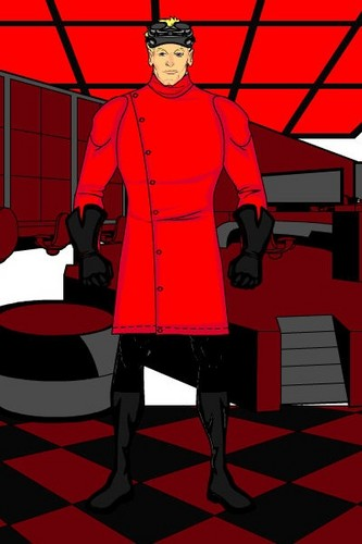 Dr Horrible in Red