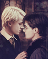 Drarry kiss icon - harry-and-draco fan art