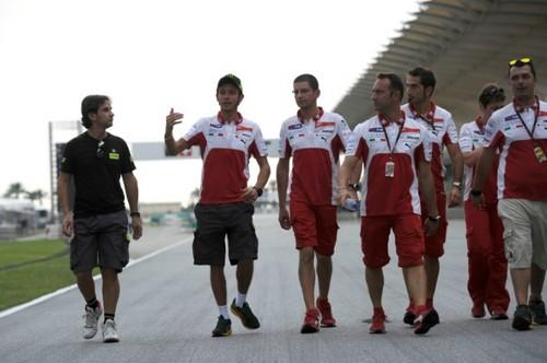 Ducati team (Sepang 2012)