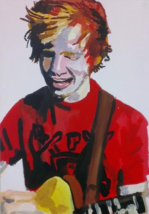 Ed painting