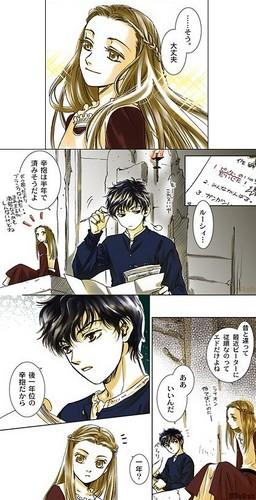 Edmund and Lucy anime manga