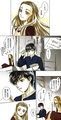 Edmund and Lucy anime manga - the-chronicles-of-narnia photo
