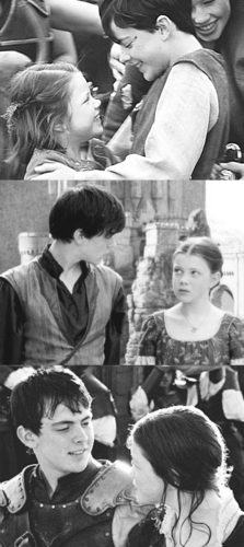 Edmund and Lucy through the years