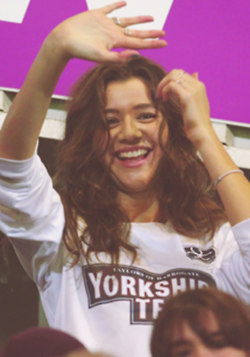 Eleanor at Louis's charity Match