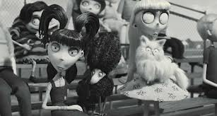 Elsa And Weird Girl At The Baseball Game Frankenweenie Foto 32589716 Fanpop