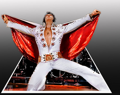 Elvis Presley wallpaper called Elvis Red Cape