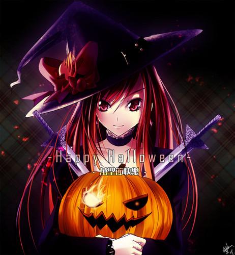 Erza Halloween!