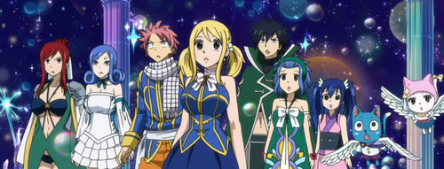 Everyone and their Celestial clothes~ :D