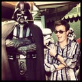 Ewan and Darth Vader XD - ewan-mcgregor fan art