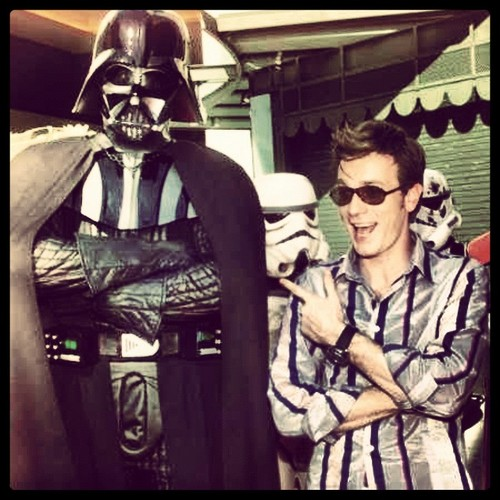 Ewan and Darth Vader XD