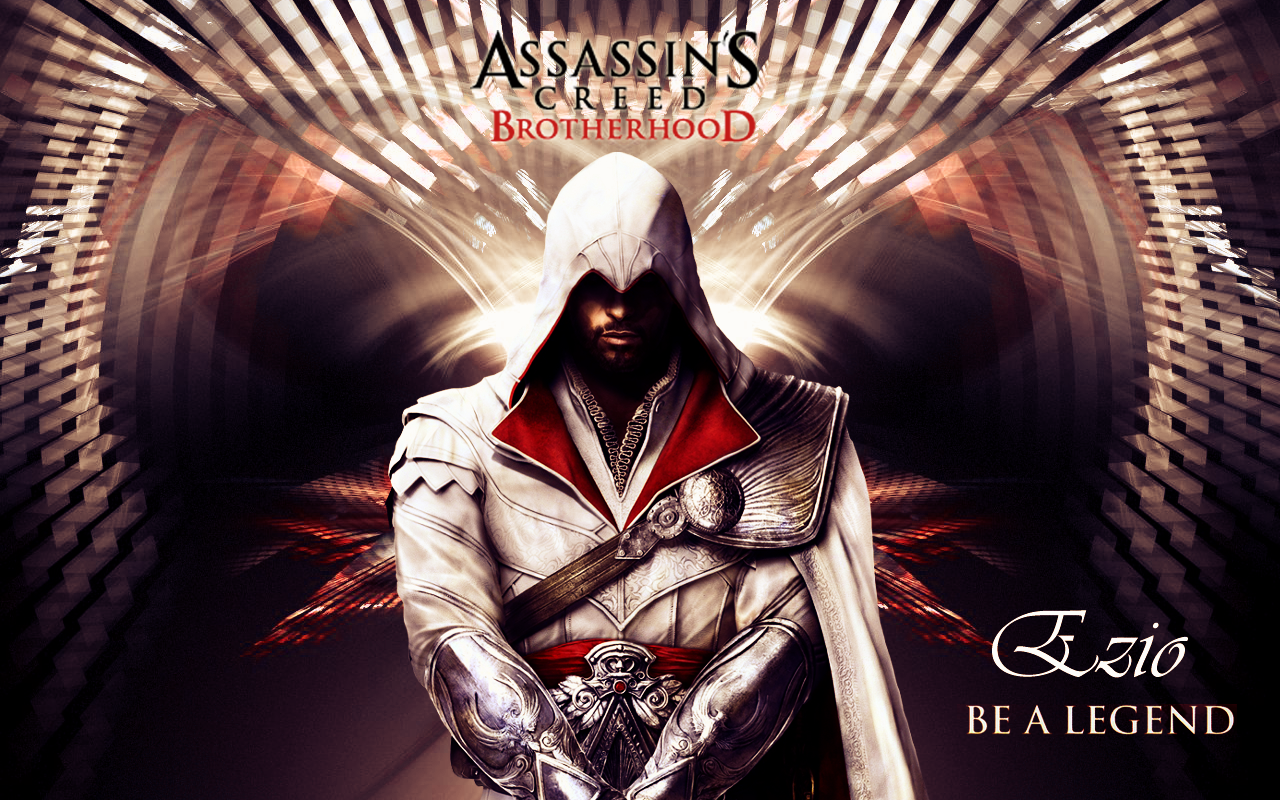 Ezio The Assassin S Wallpaper 32548845 Fanpop