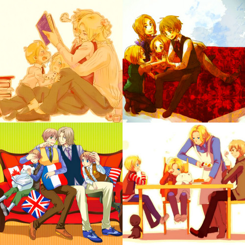 Hetalia wallpaper titled F.A.C.E
