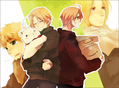 Hetalia wallpaper entitled Face Family