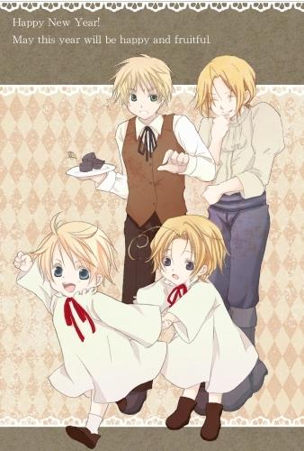 hetalia fondo de pantalla probably containing anime entitled Face Family