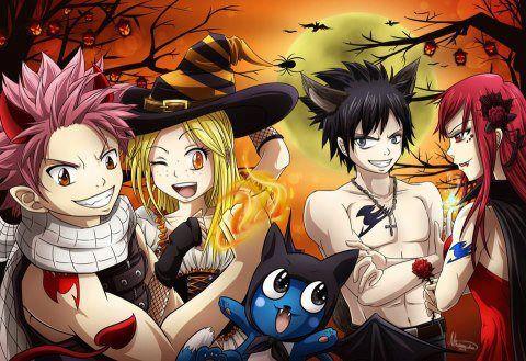 Fairy Tail Halloween !