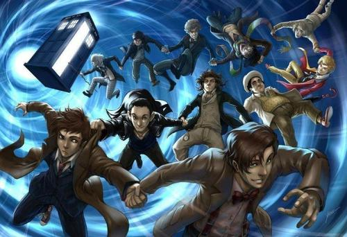 doctor who wallpaper containing anime entitled Fanart